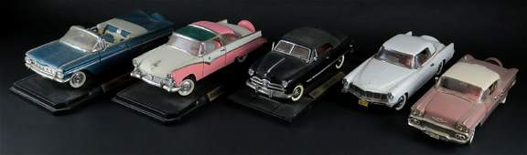 Collection of Five (5) Die-cast Metal Cars Including: