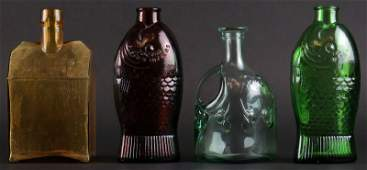 Four 4 Vintage Collectable Bottles Two 2 Doctor