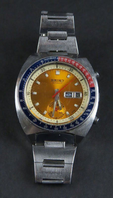 Vintage Single Register Men's Seiko Chronograph Wrist
