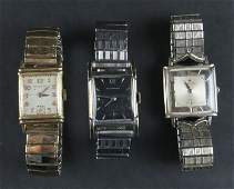 Tray Lot of Gold Filled Vintage Windup Watches. Some