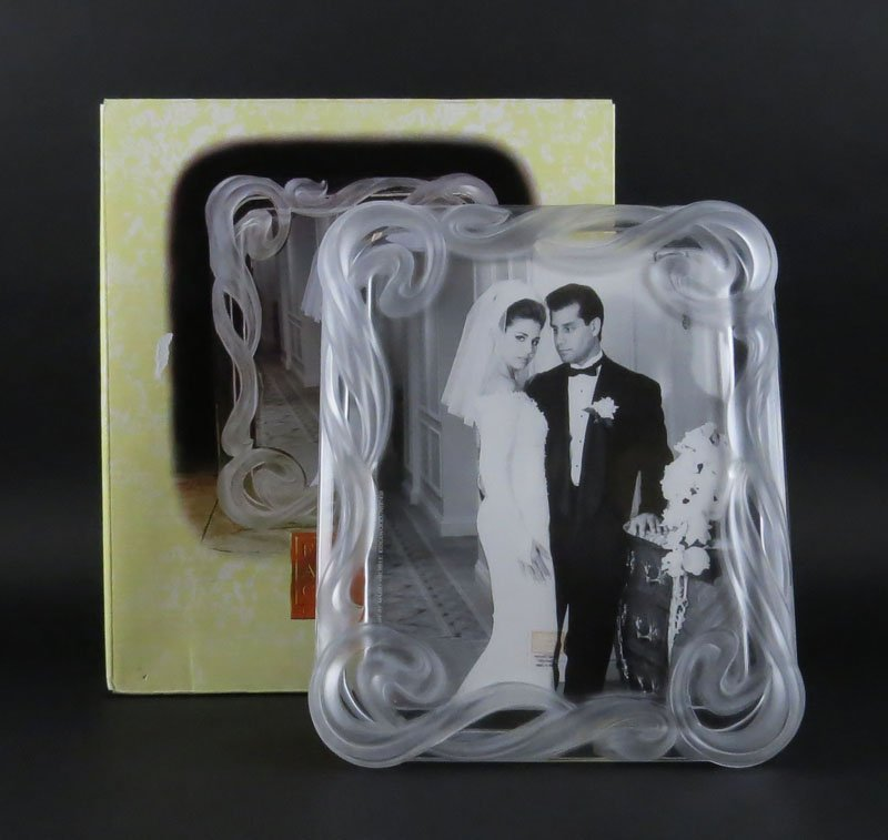 Fifth Avenue Crystal Ribbons Picture Frame 8 By 10