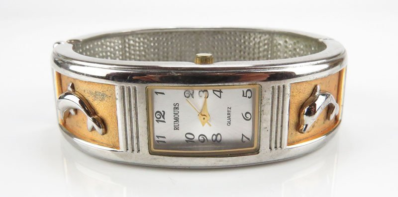 Rumours Quartz Dolphin Watch. Good Physical Condition,