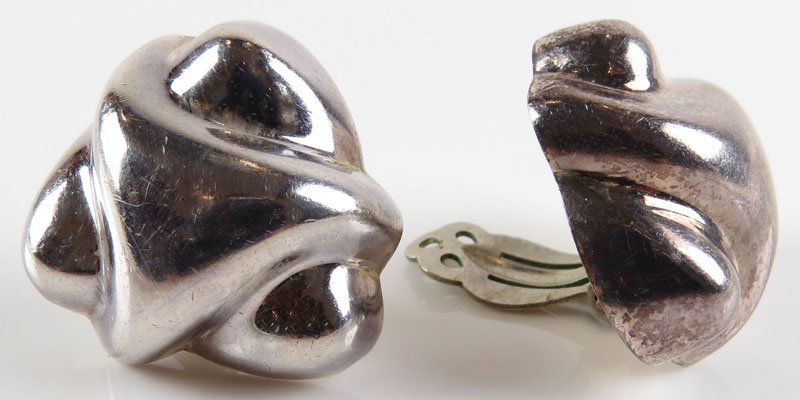 Vintage Pair of Zina of Beverly Hills Sterling Silver