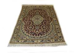 Hand Woven Persian Style Area Rug Unsigned Dirty or