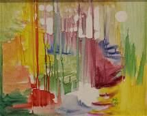 Belle Golinko American-New York (20th Century) Oil on C