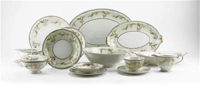 Eighty (80) Pc Hand Painted Porcelain Japanese
