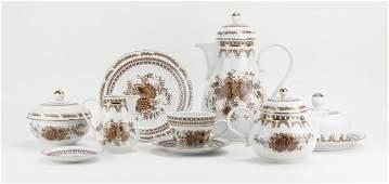 Vintage FiftyOne 51 Pc Kahla German Porcelain Tea