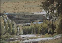 Frederick H Bridgen Canadian 18711956 Watercolor o