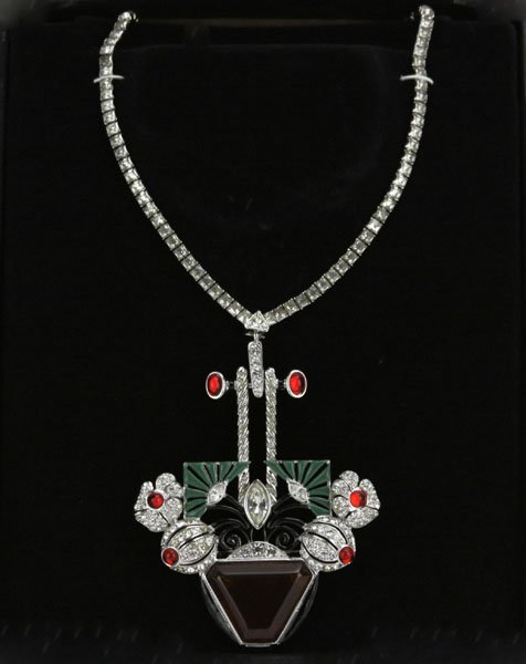 Art Deco Heirlooms of Tomorrow Necklace and