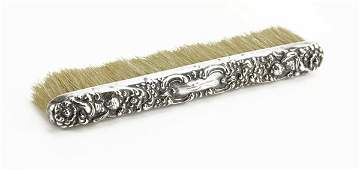 Unger Brothers Sterling Silver Art Nouveau Brush