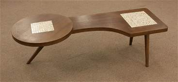 Mid-Century Danish Modern Style Wooden Coffee Table