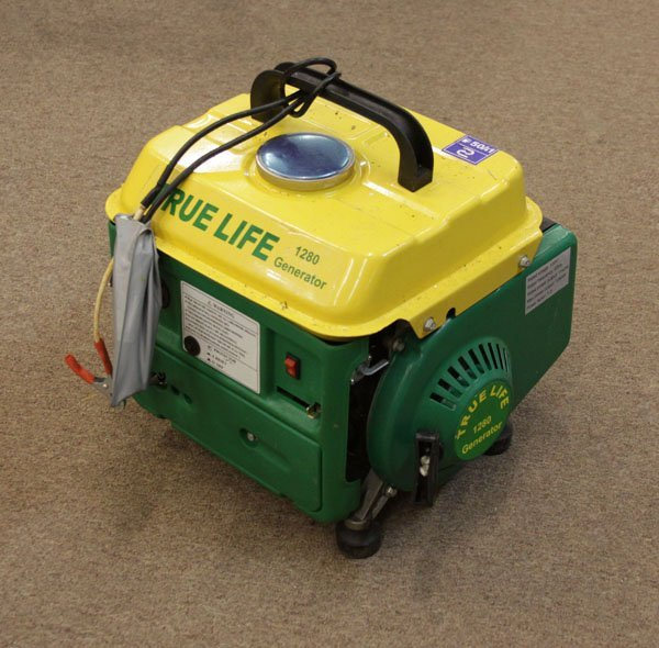 1280 Portable Generator with 2 Hp Gas Engine