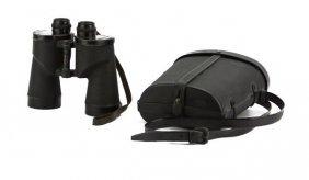 Bausch & Lomb Millitary Binocular In Hard Case.