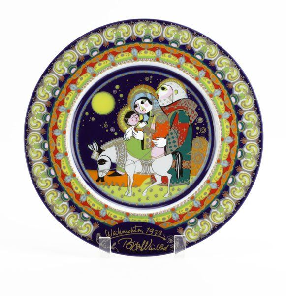 Limited Edition Rosenthal Bjorn Winblad Exodus from Egy