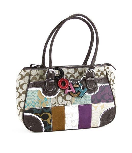 Coach Patchwork Handbag. Good Condition. We do Not