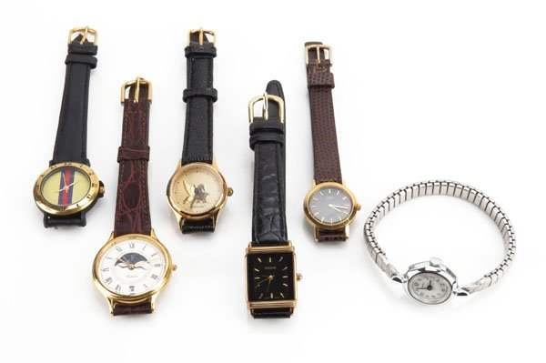 Lot of Assorted Vintage Watches. Includes Gucci,