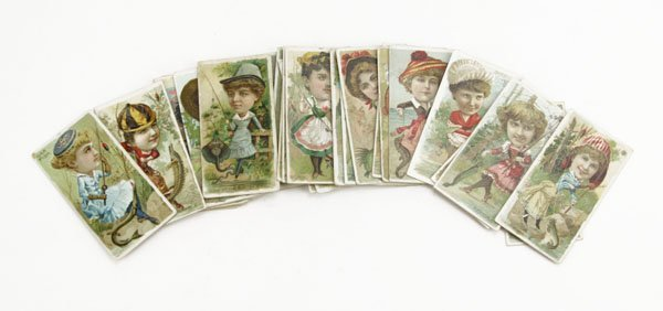 ukes Cigarette Cards. Spotting, Wear from Age. Please E