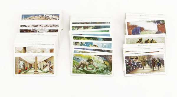 Lot of Assorted Cigarette Cards. Includes Ocean Greyhou