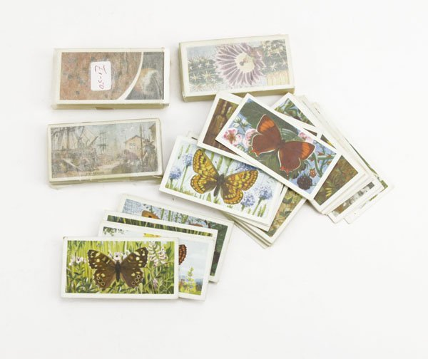 Lot of Assorted Cigarette Cards. Includes British Butte