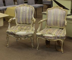 Assembled Pair Of 19/20th Century Italian Carved,