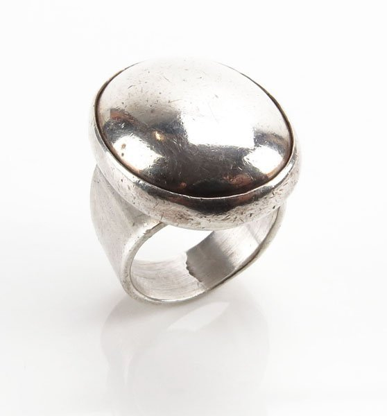 Sterling Silver Ring. Stamped. Good Condition. Ring Siz