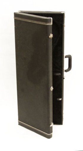 Electric Guitar Case With Cloth Lined Interior. Wear To