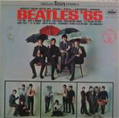 Framed The Beatles 65 LP Record Cover Capitol ST 2228