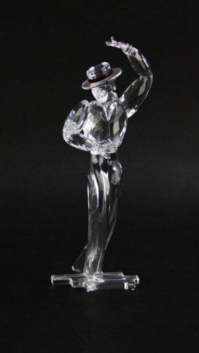 Swarovski Crystal Magic Of Dance Male Figurine. Good