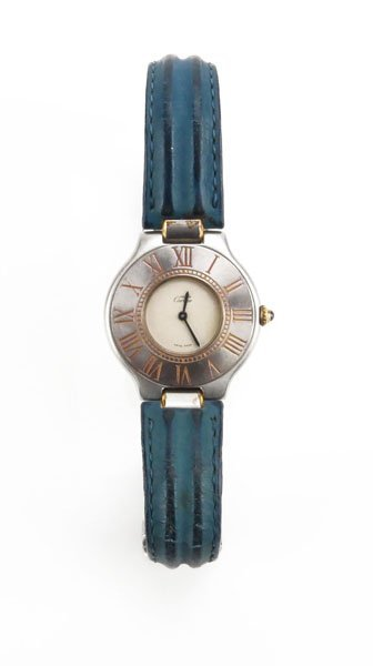 Vintage Cartier Must de Stainless Steel Watch with