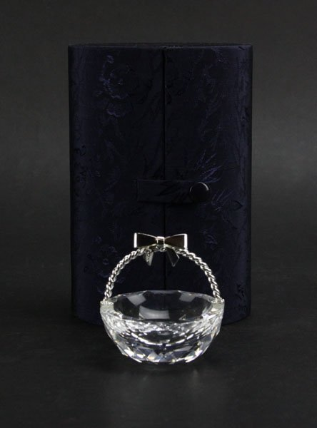 Silver and Swarovski Crystal Doca Preziosi Miniature