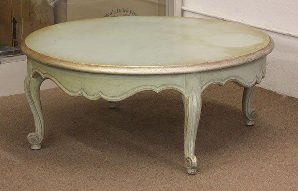 Mid 20th Century Italian Louis XV Style Painted Parcel