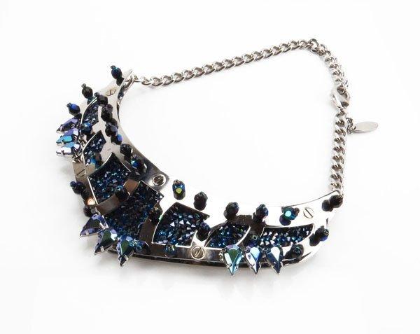Roberto Cavalli and Swarovski Crystal Necklace. Origina