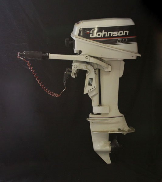 8HP Johnson Outboard Motor Model J8RCEC. Minor Surface
