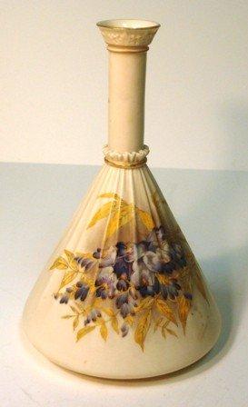 """113: Royal Worcester Vase. 10"""""""