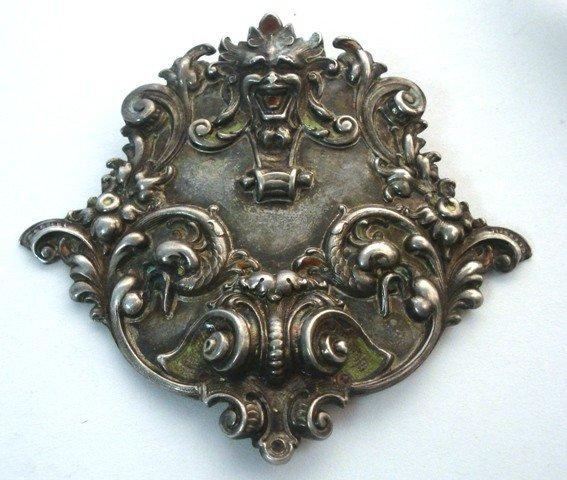 119: Victorian Silver Broach