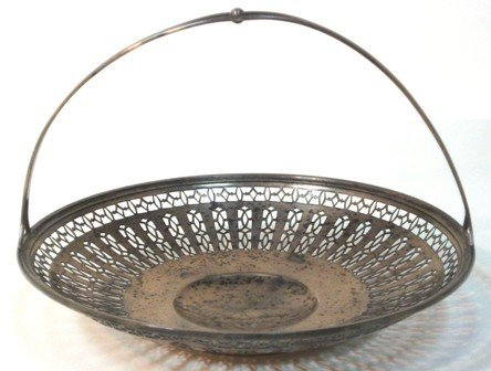123: Gorham Sterling Reticulated Candy Dish