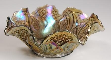 108: Imperial Smoke Carnival Glass