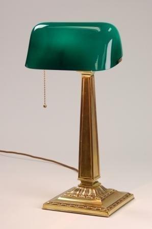 Classic EMERALITE Bankers Lamp NO. 8734