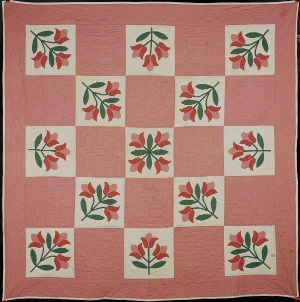 7B: Handstitched Antique Quilt