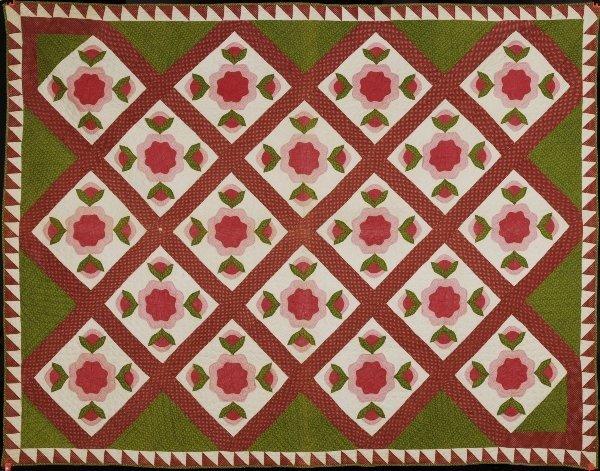 7C: Antique Handstitched Quilt