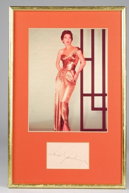 5: Ava Gardner Color Photograph with Autograph