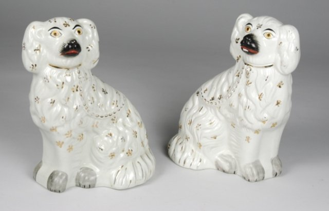 8: Pair of Staffordshire Dogs