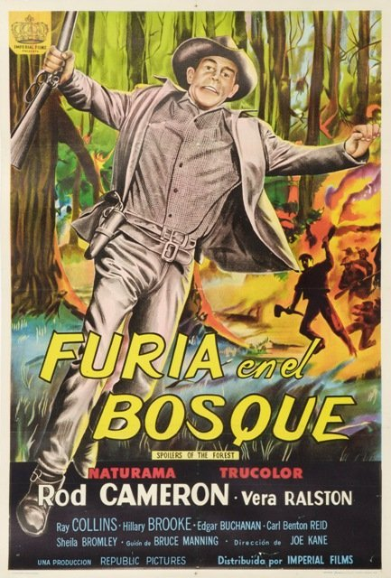 9: 1957 Argentine Spoils of the Forest Movie Poster