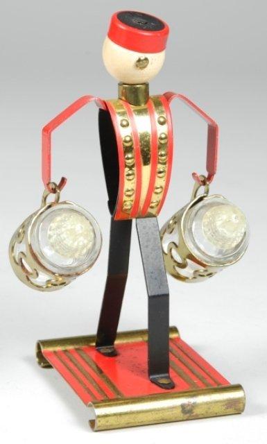 12: Art Deco Phillip Morris Bellhop Salt & Pepper