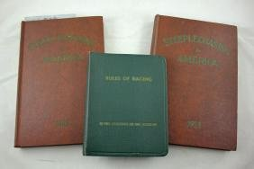 3 National Steeplechase & Hunt Association Books