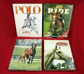 Four Large Format Picture Books on Horses