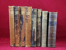 Group of 8 Small Leather Books 1853-1917