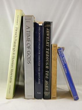 Six  Large Books on Art Through the Centuries