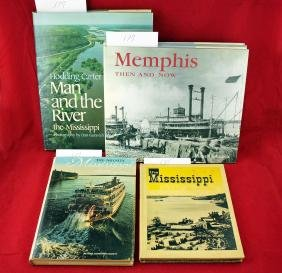 Five Books on Memphis & the Mississippi River