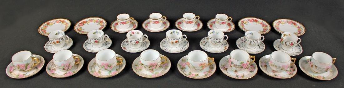 Rosenthal, Victoria & Limoges Cup & Saucer Sets